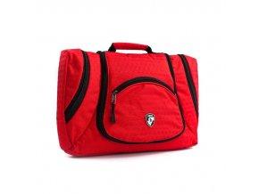 Heys Ecotex Toiletry Bag Red  univerzální kosmetická taška