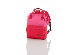Travelite Neopak Multi-carry backpack Red/pink