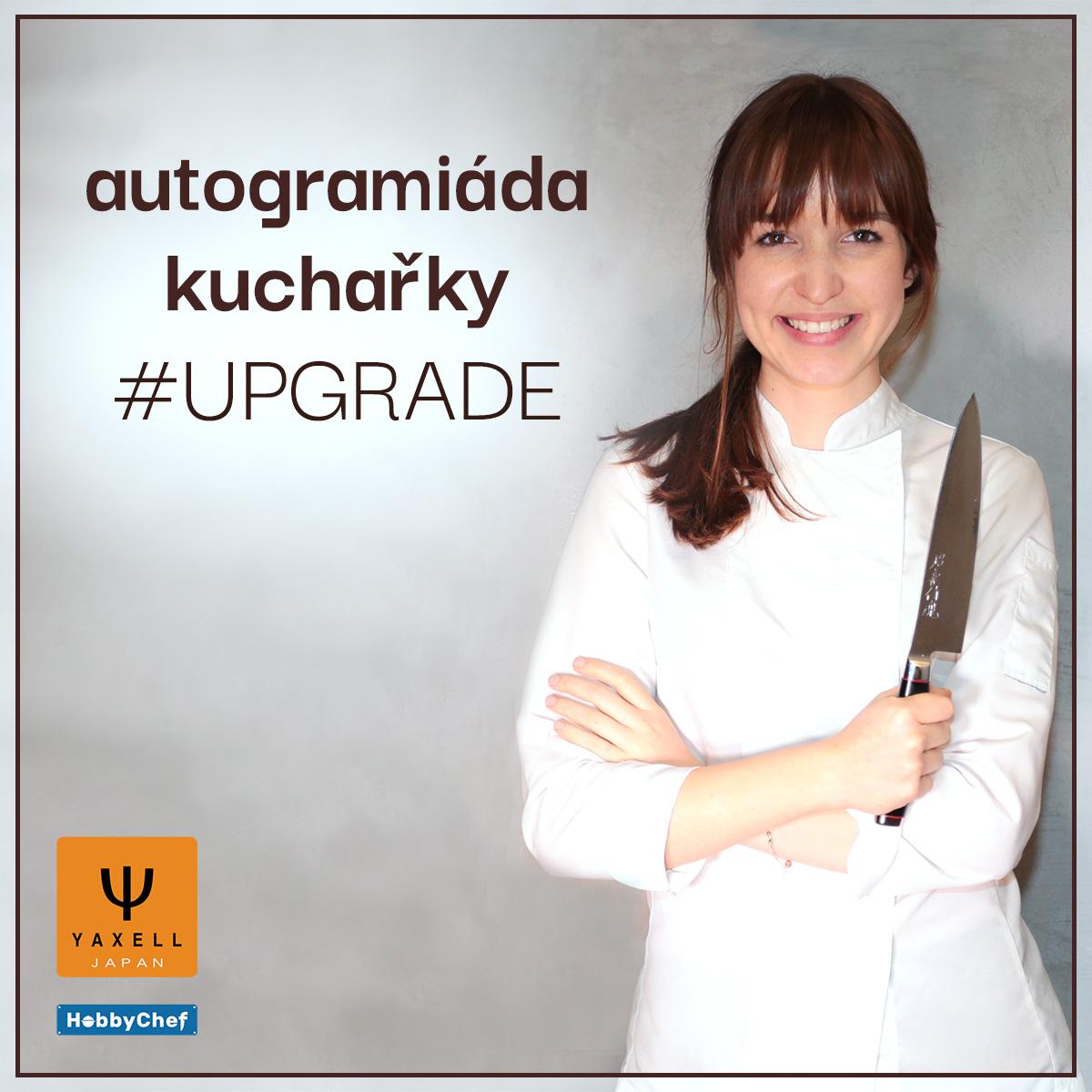 Autogramiáda a prodej kuchařky #UPGRADE