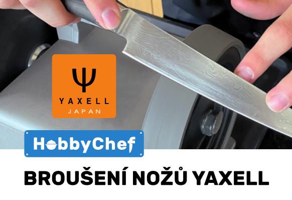 Přijďte si zdarma naostřit své nože YAXELL