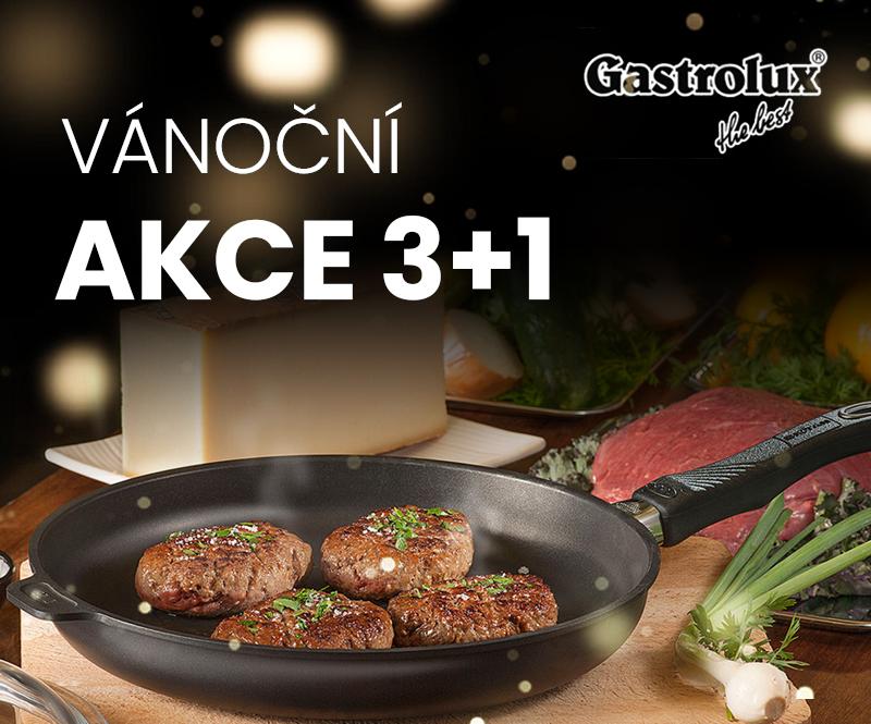 Nádobí Gastrolux - akce 3+1