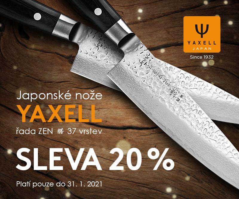 Nože Yaxell Zen - sleva 20 %
