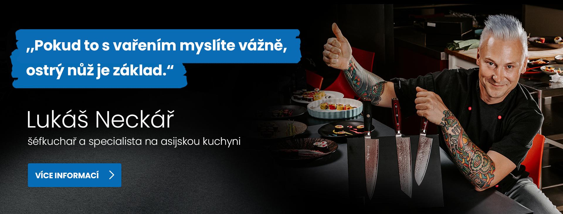 Vařte jako profík s šéfkuchařem Lukášem Neckářem