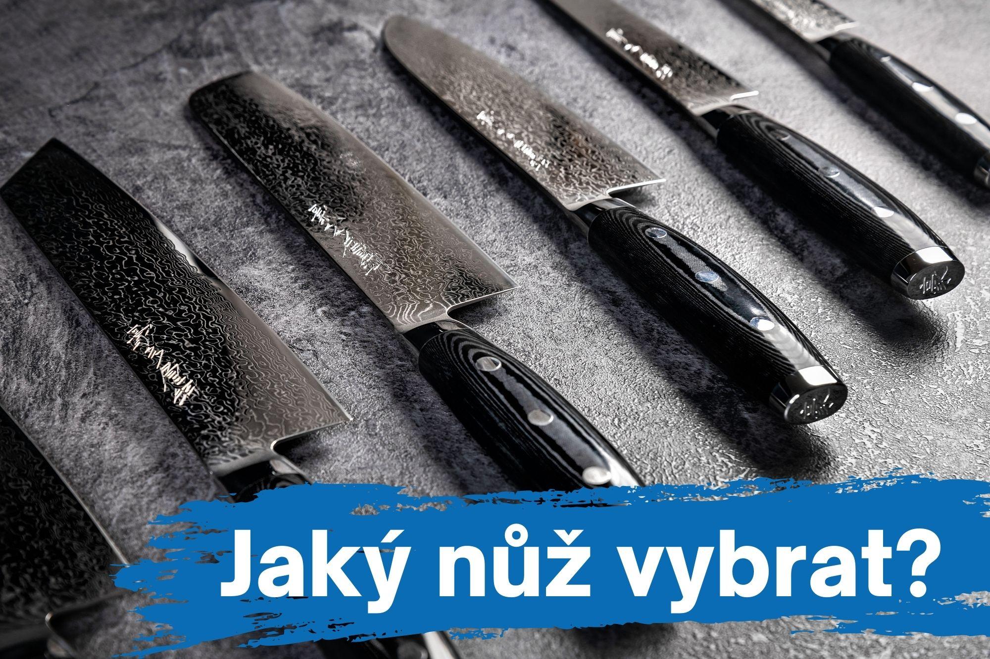 Jaký vybrat nůž