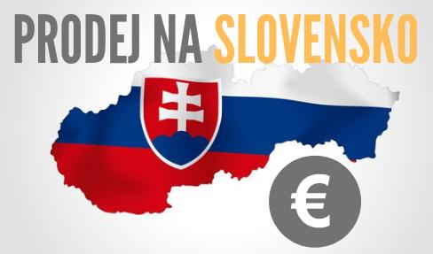 Prodej na Slovensko