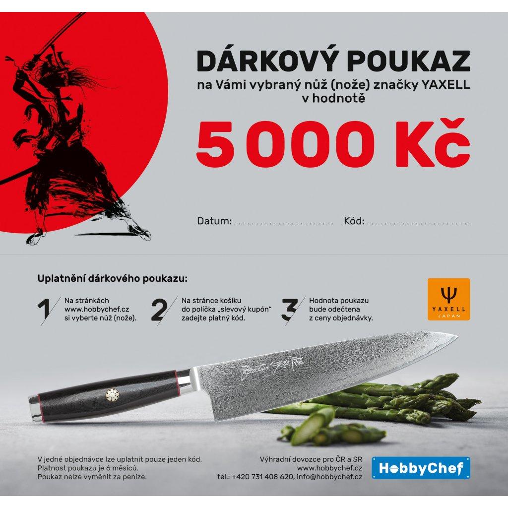 voucher Yaxell DL 5000 Kč