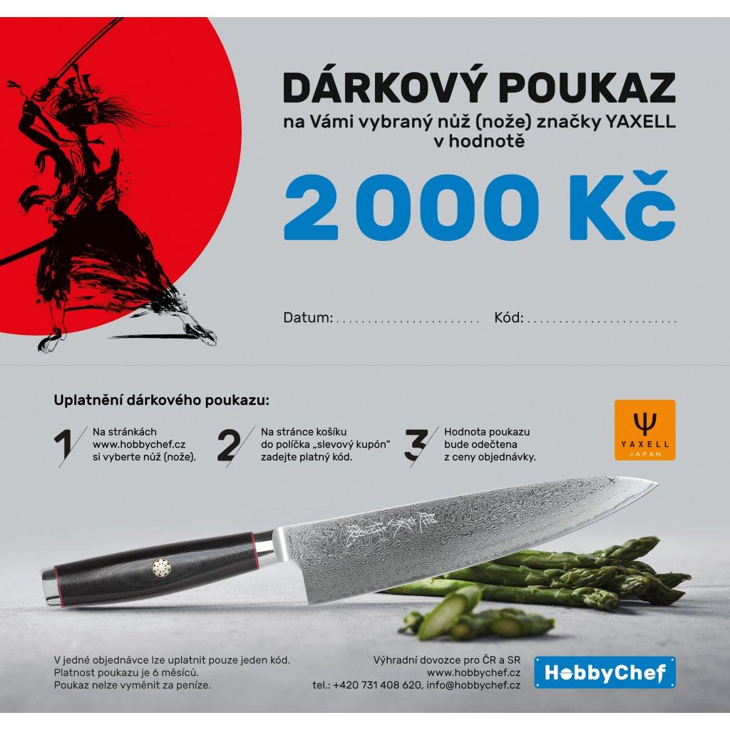 voucher Yaxell DL 2000 Kč