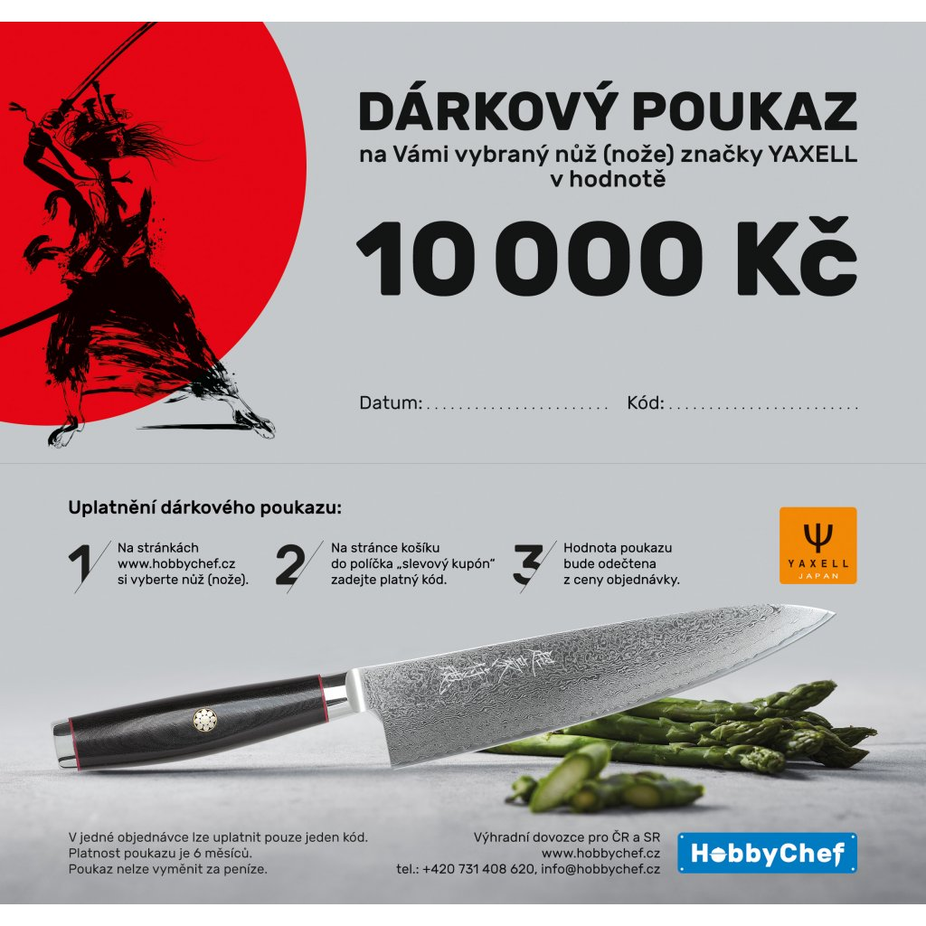 voucher Yaxell DL 10000 Kč