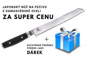 nůž na pečivo s dárkem