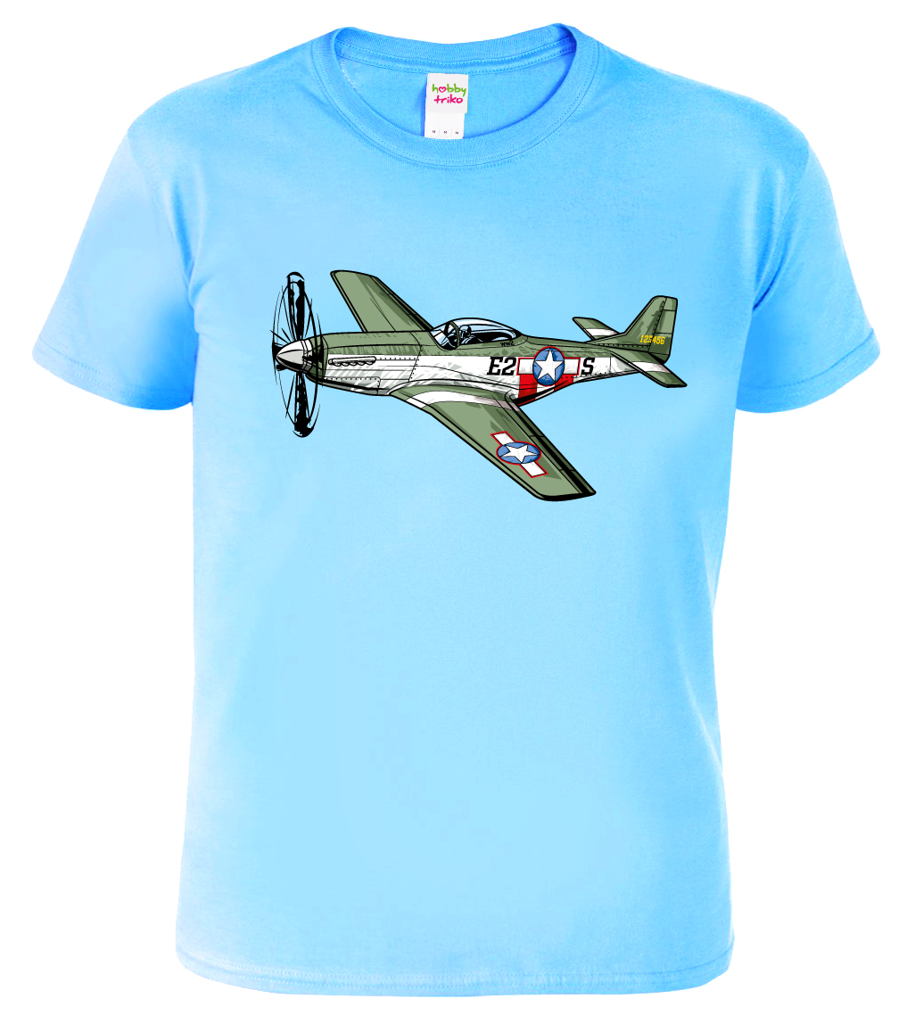 Pánské tričko s letadlem
