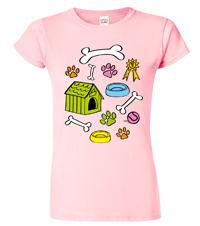 Dámské tričko pro pejskaře