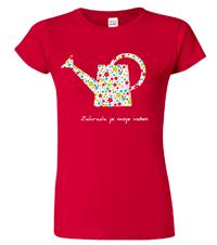 Dámské tričko pro zahradnici