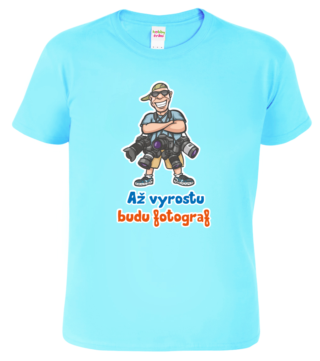 Dětské tričko pro fotografa