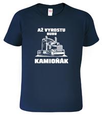 Dětské tričko kamioňák