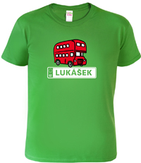 Dětské tričko autobusák