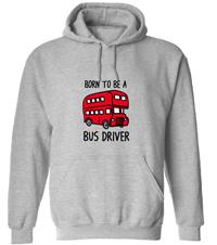 Pánská mikina pro řidiče autobusu
