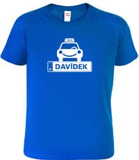 Dětské tričko taxikář