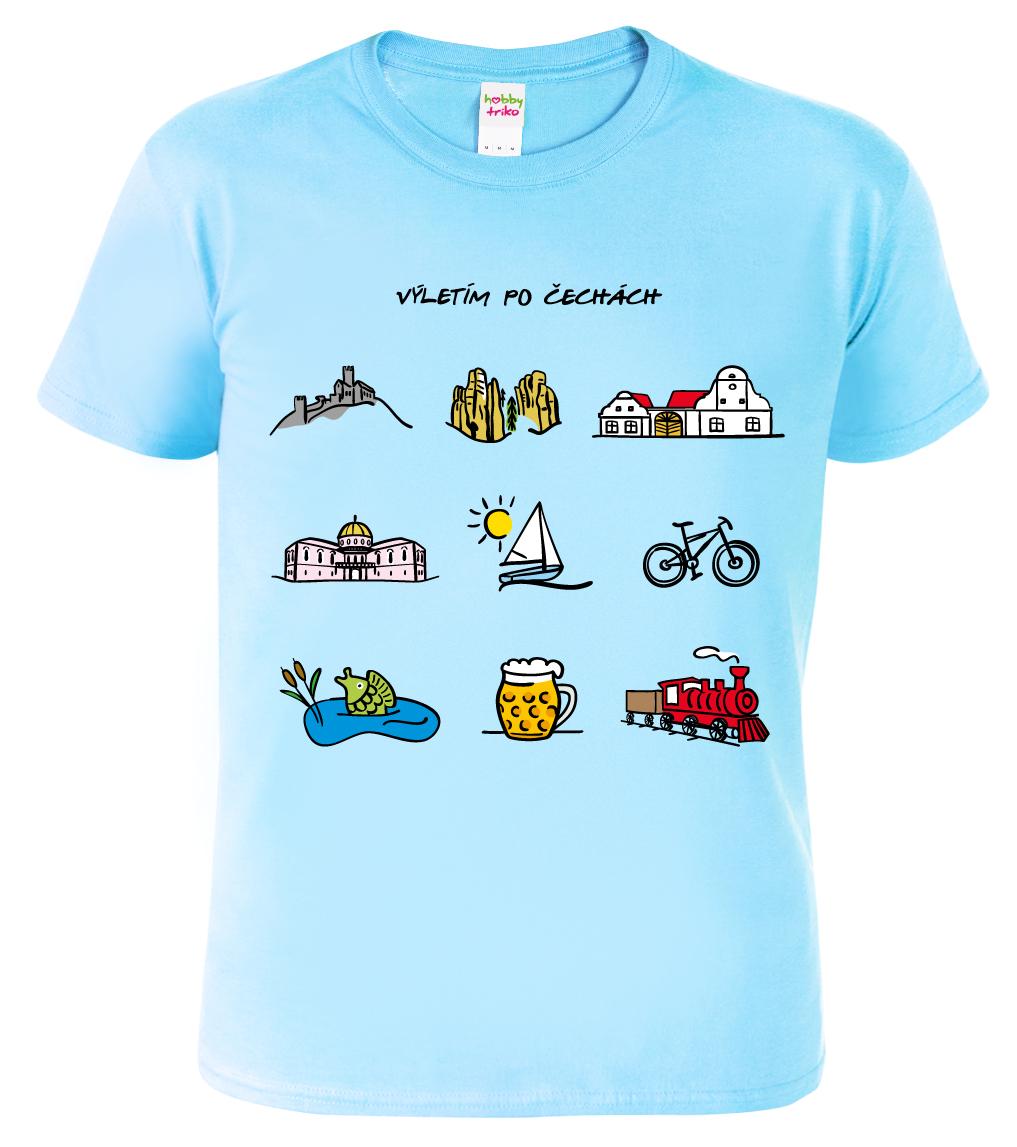 Pánské cestovatelské tričko