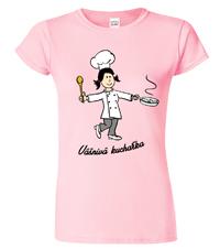 Dámské tričko pro kuchařku