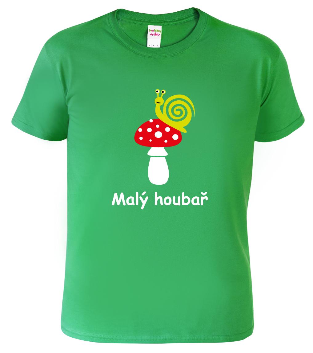 Dětské tričko pro houbaře