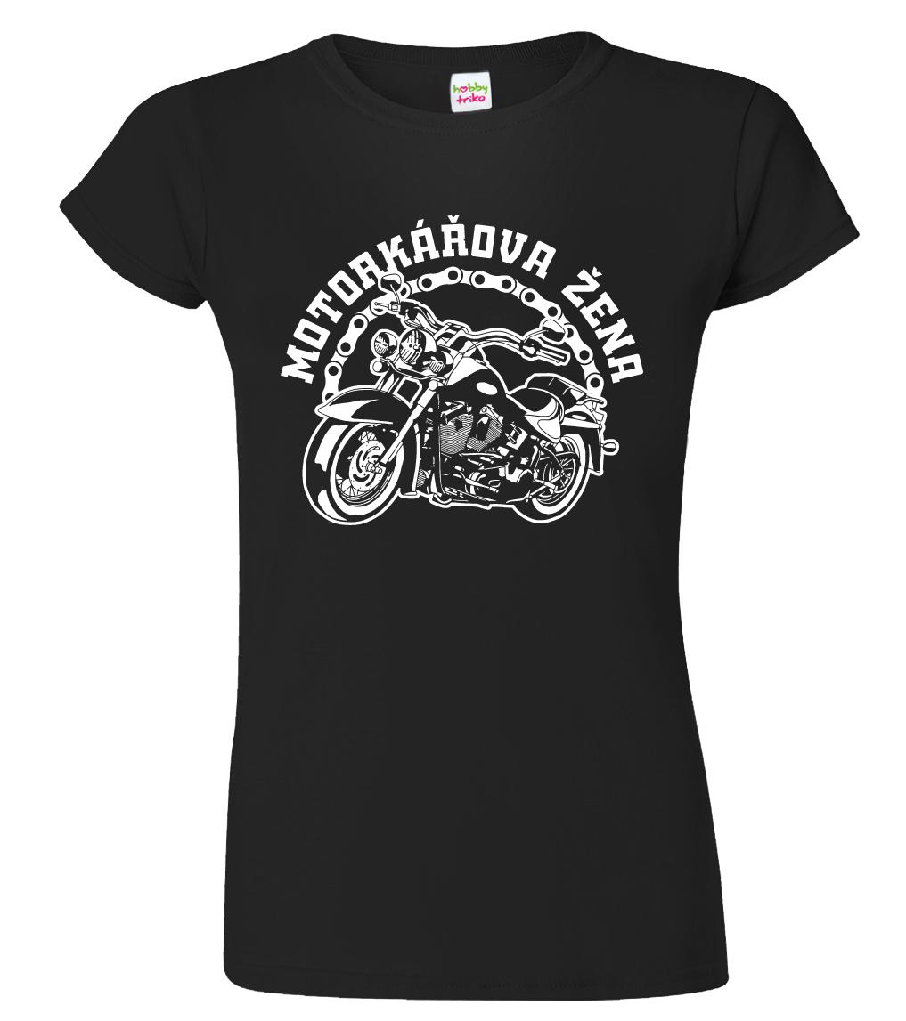 Dámské tričko pro motorkářku