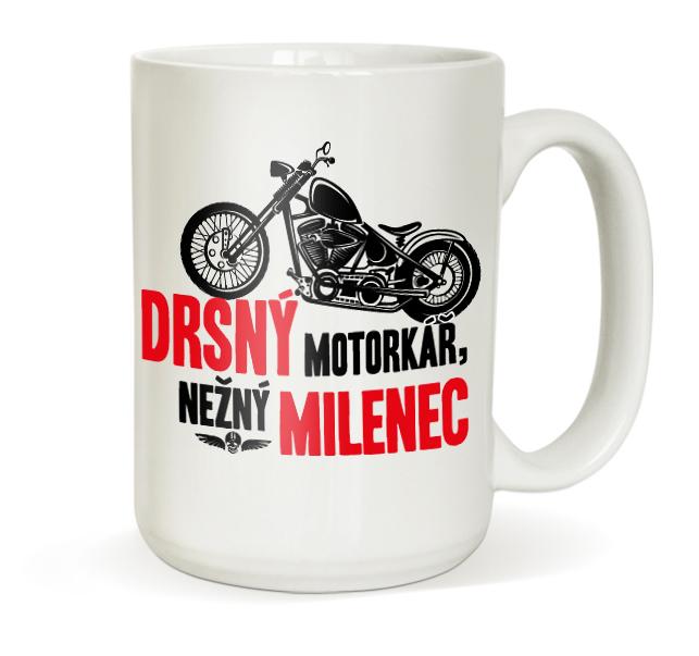 Hrnek pro motorkáře