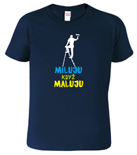 Pánské tričko pro malíře pokojů
