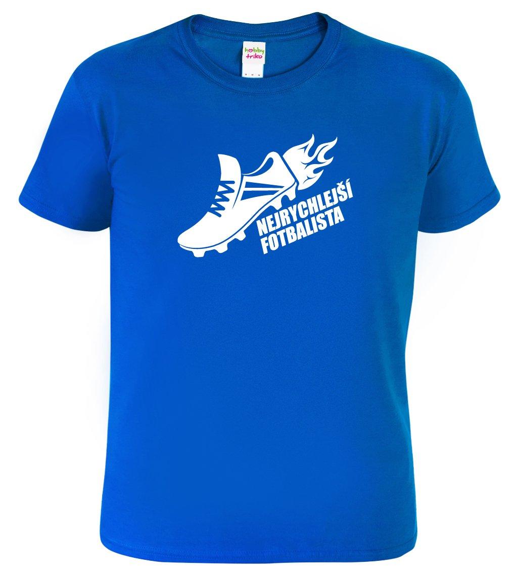 Tričko pro fotbalistu - Nejrychlejší fotbalista