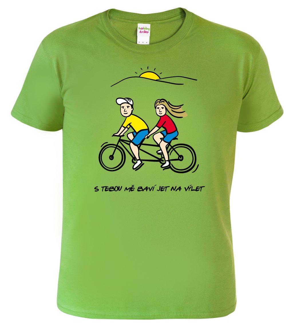 Pánské tričko pro cyklistu - Dvojkolo