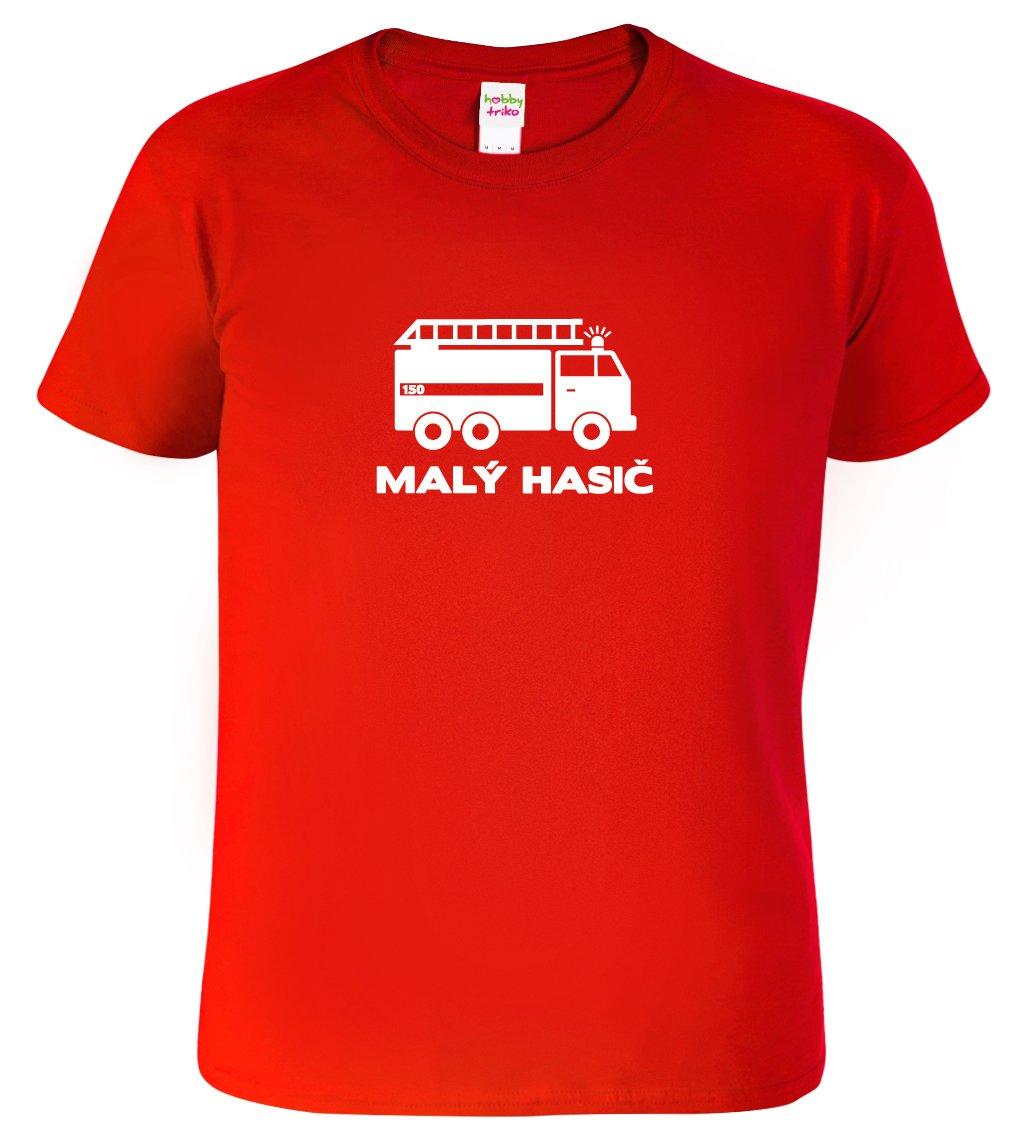 3c3b083f3ec Dětské chlapecké hasičské tričko - Malý hasič - HobbyDárky