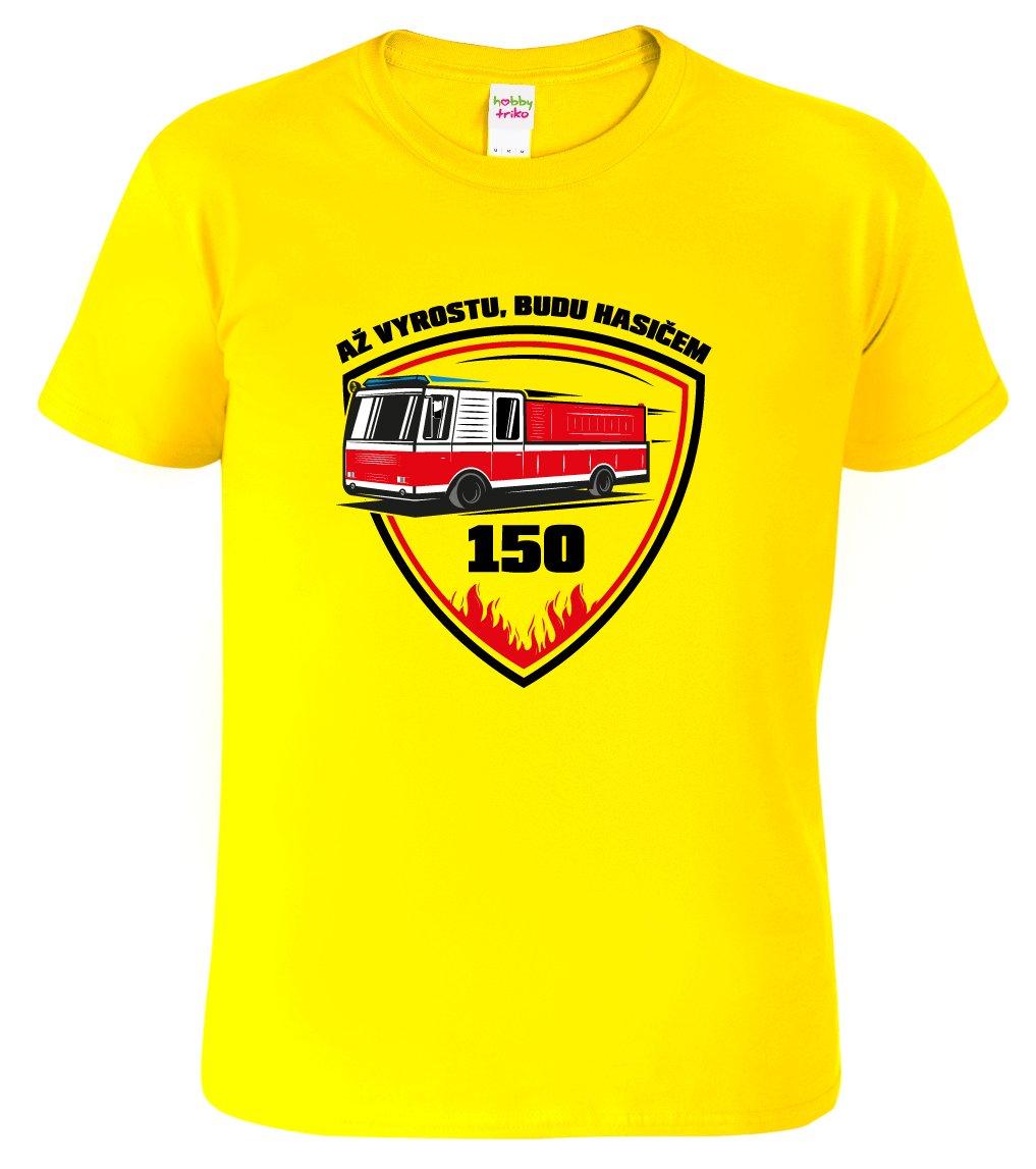 tričko hasiči