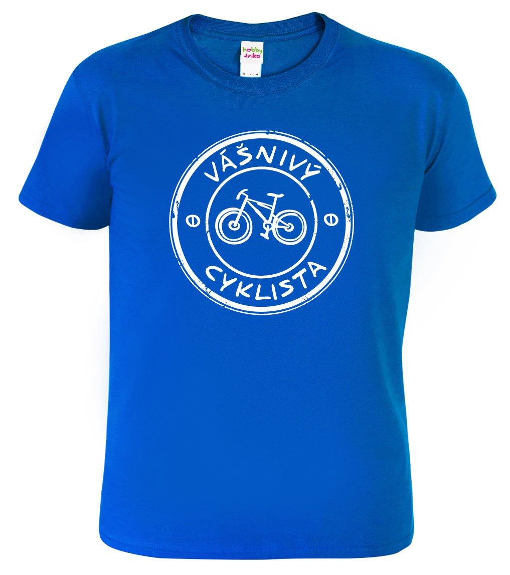 Pánské tričko pro cyklistu - Vášnivý cyklista