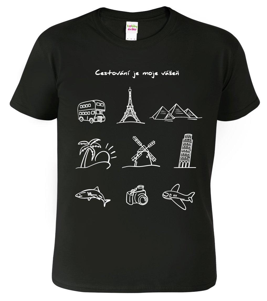 Tričko pro cestovatele