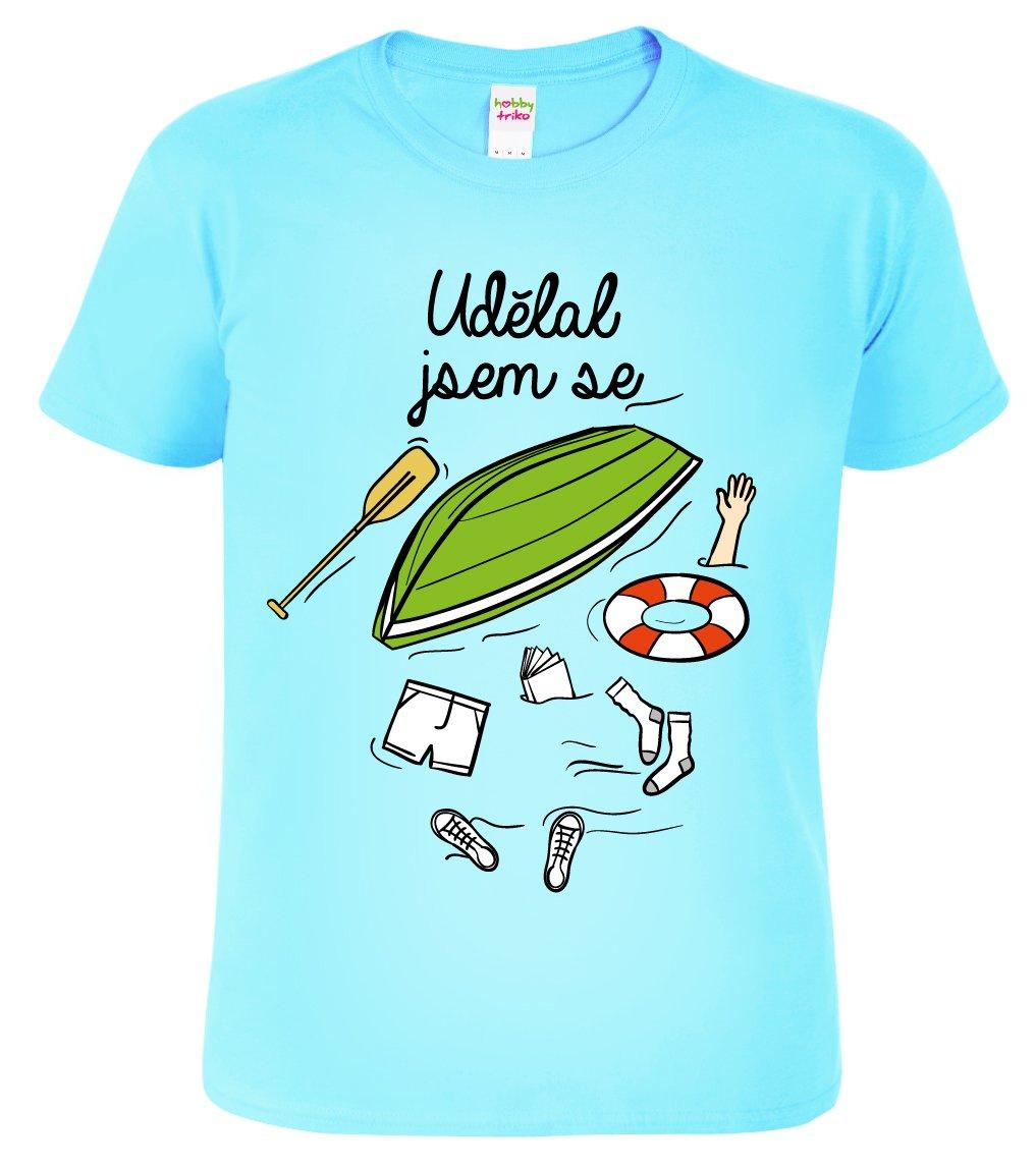 Pánské vodácké tričko - Udělal jsem se - HobbyDárky 034e0a2f10