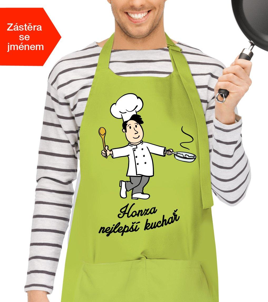Zástěra pro muže k svátku - Nejlepší kuchař
