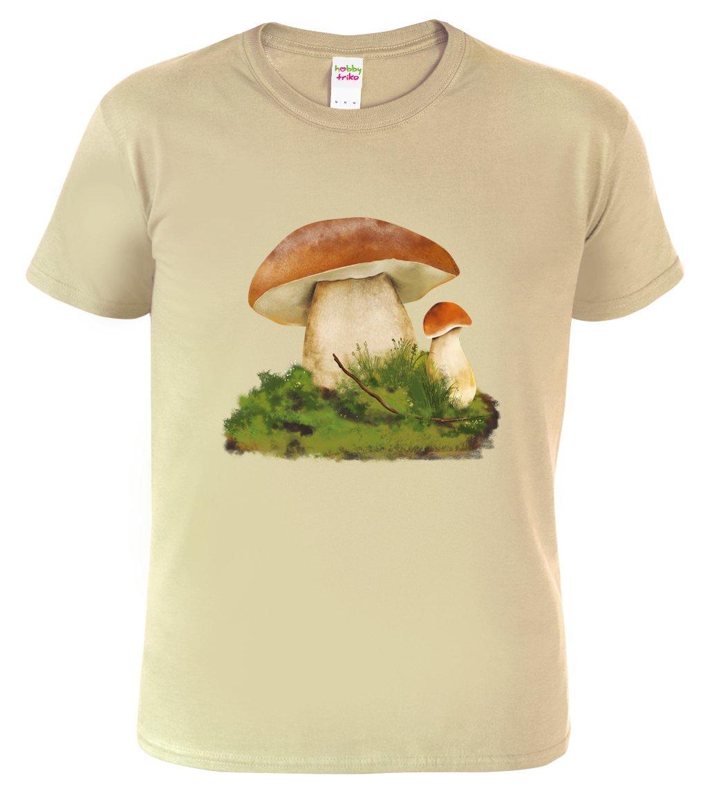 tričko pro houbaře s hřibem smrkovým