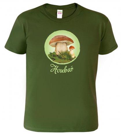 tričko pro houbaře