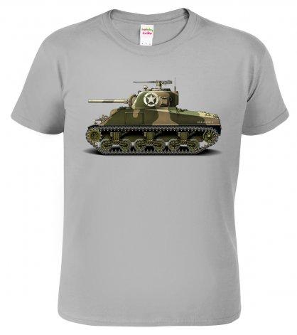 Tričko s tankem - army oblečení