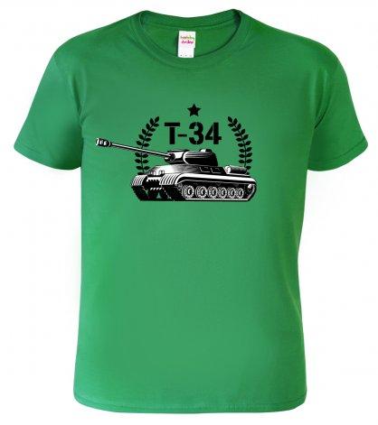 Army oblečení - tričko s tankem