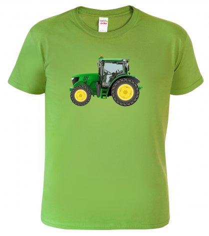 Tričko s traktorem