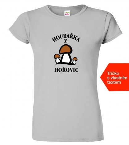 Dámské tričko pro houbaře