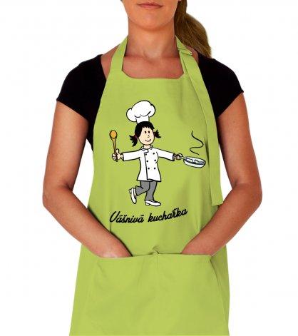 Kuchařská zástěra vtipná