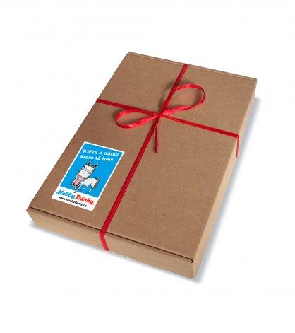 Dárková krabička (3-4 trička)