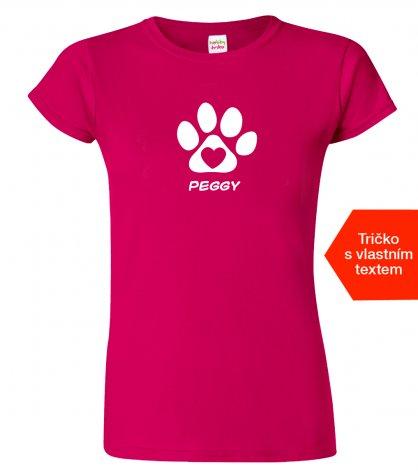 Tričko psi na tričku