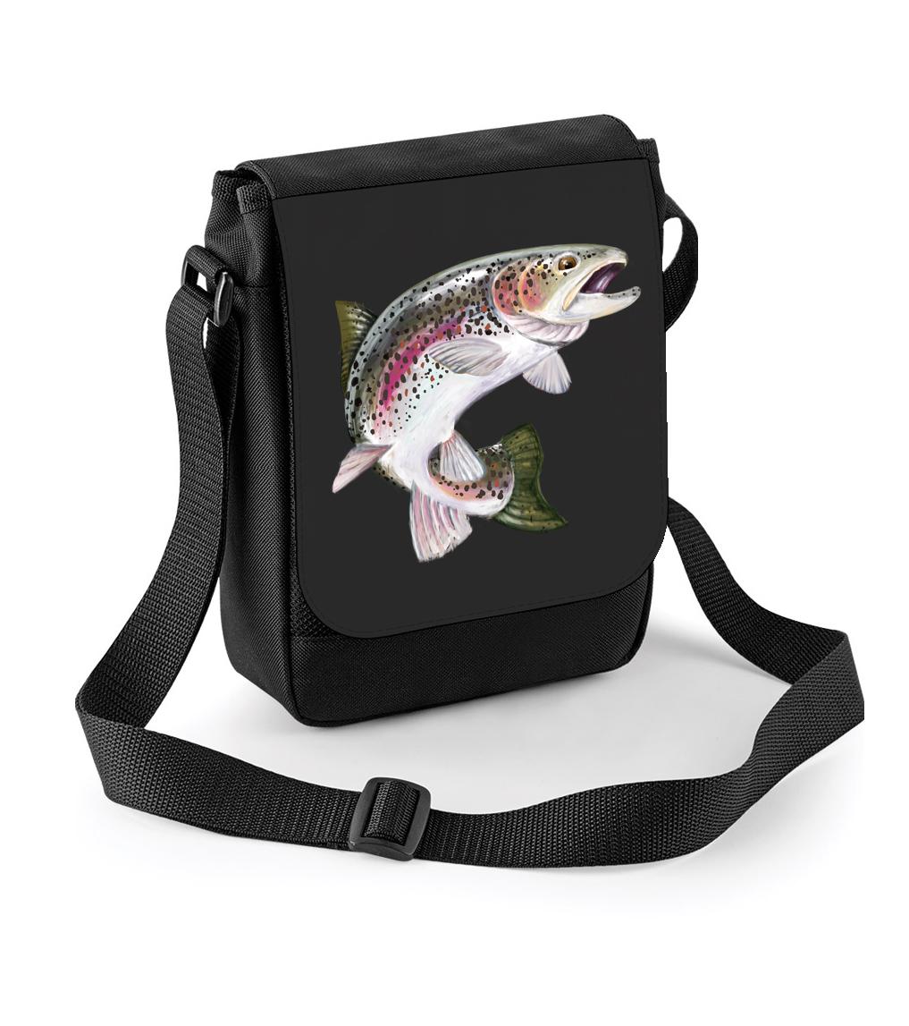 Rybářská taška - Pstruh duhový Barva  Černá c2cb19b5511