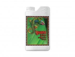 Základní květové organické hnojivo Iguana Juice Organic Bloom od Advanced Nutrients, 1l.