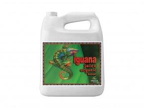 Základní květové organické hnojivo Iguana Juice Organic Bloom od Advanced Nutrients, 4l.