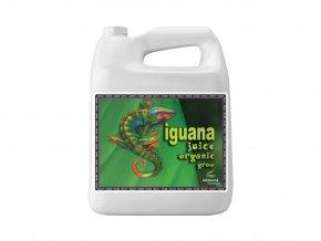 Základní růstové organické hnojivo Iguana Juice Organic Grow od Advanced Nutrients, 4l.