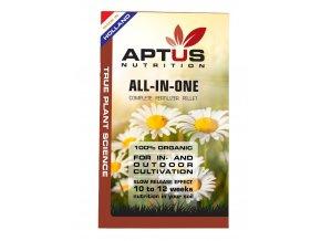 Základní jednosložkové hnojivo ve formě pelet All-In-One Pellets od Aptus, 100ml.