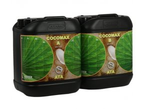 Základní dvousložkové hnojivo pro kokosové substráty Coco Max od Atami, 10l.